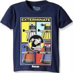 Doctor Who Kids Dalek Exterminate T-Shirt