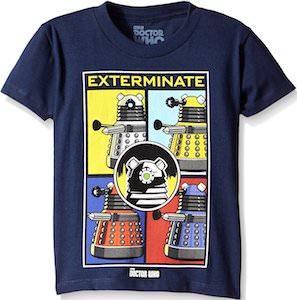 Kids Dalek Exterminate T-Shirt