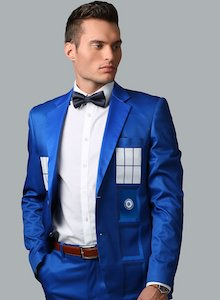 Tardis Formal Suit Jacket