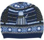 Dalek And Tardis Christmas Beanie Hat