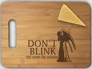 Weeping Angel Cutting Board
