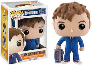 10th Doctor Figurine With An Extra Hand