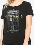 Doctor Who Tardis And New Logo T-Shirt