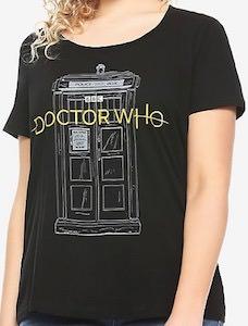 Tardis And New Logo T-Shirt