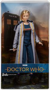 Female Doctor Who Barbie Doll