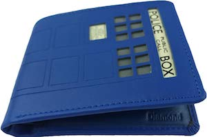 Tardis Leather Wallet
