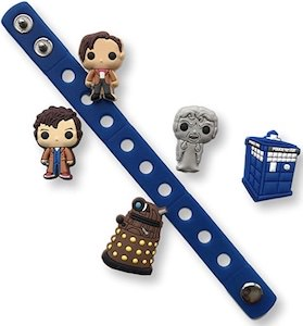 Doctor Who Shoe Charms And Bracelet