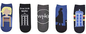 13th Doctor Who Socks 5 pairs