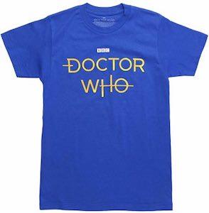 Doctor Who Logo T-Shirt