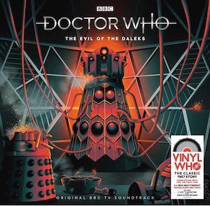The Evil Of The Daleks Vinyl Soundtrack