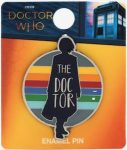 Dr Who 13th Doctor Enamel Pin
