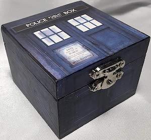 Doctor Who Tardis Ring Box