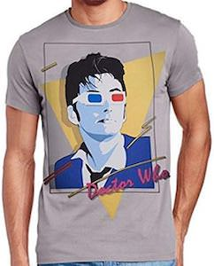 80s Style 10th Doctor T-Shirt