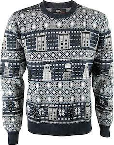 Dalek And Tardis Christmas Sweater