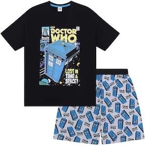 Tardis Kids Pajama Set