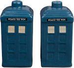 Doctor Who Tardis Salt And Pepper Shaker Set