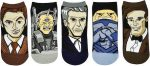 5 Pairs Of Doctor Who Socks