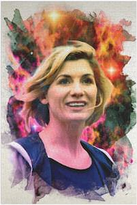 13th Doctor Portrait Jigsaw Puzzle