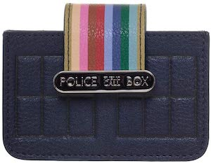 Tardis Rainbow Card Wallet