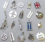 Doctor Who Bracelet Charm Set