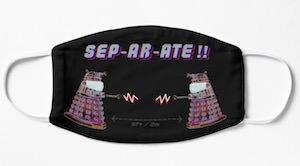 Dalek Separate Face Mask