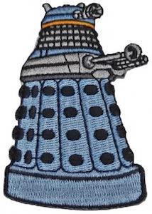 Dalek Clothing Patch