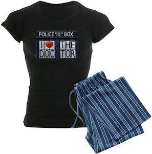 I Love The Doctor Women's Pajama Set