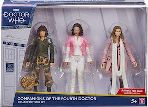 Sarah Jane Smith & Romana Action Figures
