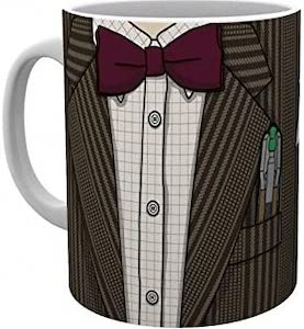 11th Doctor Costume Mug
