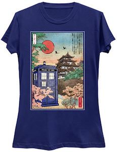 The Tardis In Japan T-Shirt