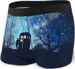 Doctor Who 11th Doctor And The Tardis Men's Underwear