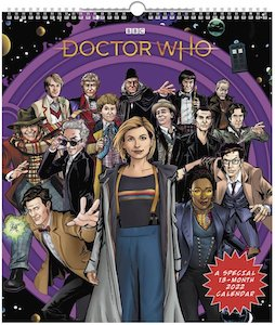 2022 Doctor Who Poster Wall Calendar