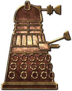 Copper Dalek Sticker